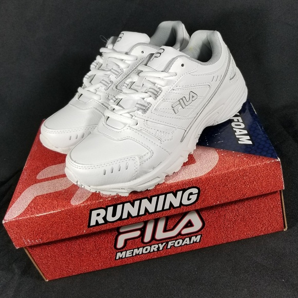 New Womens Fila Ee Sneakers White